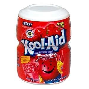 Kool-Aid Drink Mix, Cherry, 19 oz (Pack of 6)