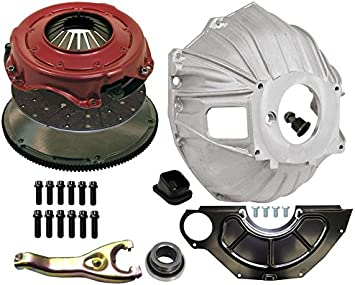 NEW SWS CHEVY ALUMINUM BELLHOUSING CLUTCH FORK BOOT /& CLUTCH PIVOT BALL GM 621 3899621 REPLACEMENT FOR SBC /& BBC FOR 11 MANUAL CLUTCH APPLICATIONS FLYWHEEL INSPECTION COVER