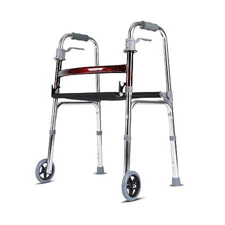 Folding Walker YX Andador Plegable Andador de Aluminio con ...