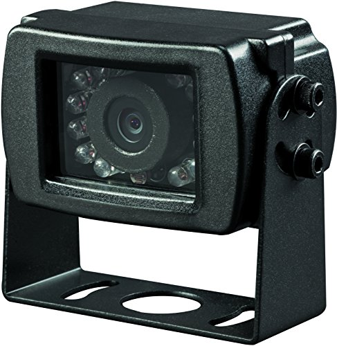Voyager VCMS17B Super CMOS Color Rear Mount Observation Camera with LED Low-Light Assist, Built-In Microphone, Black