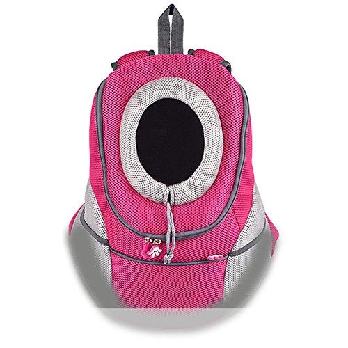 color Green LYEJM Pet Backpack Dog Bags Dog Carrier Pet Dog Front Bag Puppy Dog Portable Travel Bag Mesh Backpack LYEJM (color   color Green)
