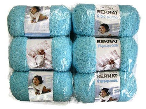 Pipsqueak Yarn, 3.5oz, 6-Pack (Blue Ice)