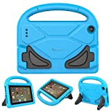 PC Hardware : fire 7 tablet case,Fire 7 Kids Case,Riaour Kids Shock Proof Protective Cover Case for Amazon Fire 7 Tablet (5th Generation 2015 / 7th Generation 2017) (Blue)