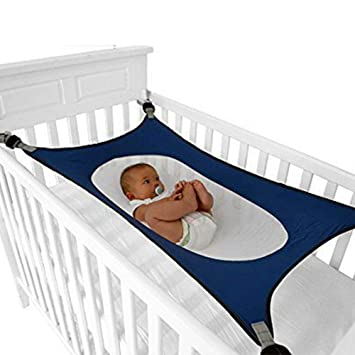 Baby Bed Wieg.Baby Crib Hammock Newborn Wombs Bassinet Comfortable Breathable Strong Net And Metal Button Fit All Sizes Infant Safety Bed Weight Capacity 30