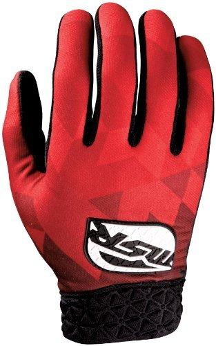 Msr Riding Gear - MSR NXT Reflect Gloves , Distinct Name: Black/Red, Primary Color: Red, Size: Md, Gender: Mens/Unisex 334088