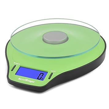 Accuweight Báscula de Cocina digital, Peso de Cocina, 5 Kg max ...