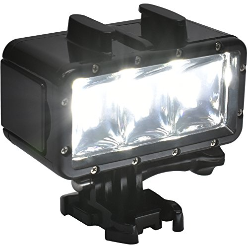 Precision Design WPL40 Waterproof Underwater Diving LED Video Light for DSLR, ILC, Point & Shoot & Action Cameras by Precision Design