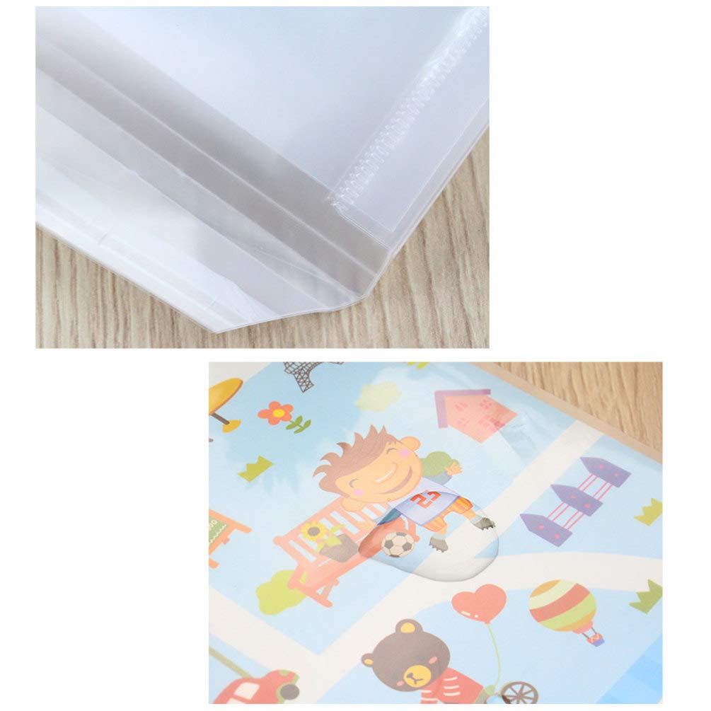 STOBOK 30Pcs Waterproof Book Cover Clear Plastic Textbook Protective Sleeve Exercise Book Covers for Student Office School