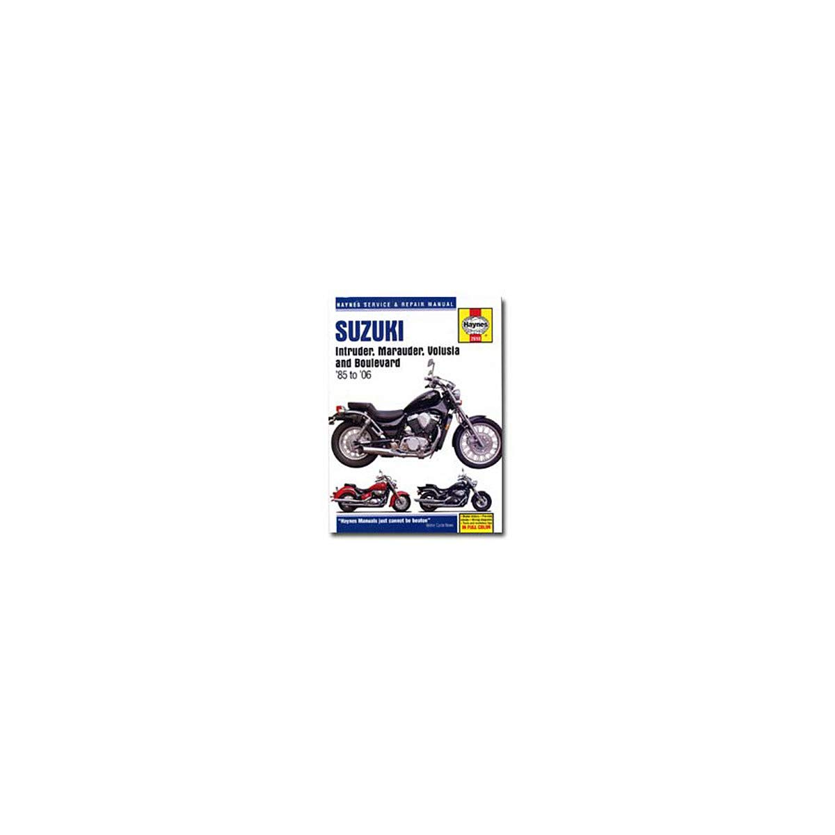 Suzuki VZ 800 Marauder 1998 Haynes Service Repair Manual 2618