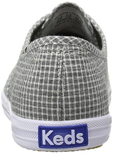 Keds Womens Champion Shirting Fashion Sneaker Black SjEunQXkl