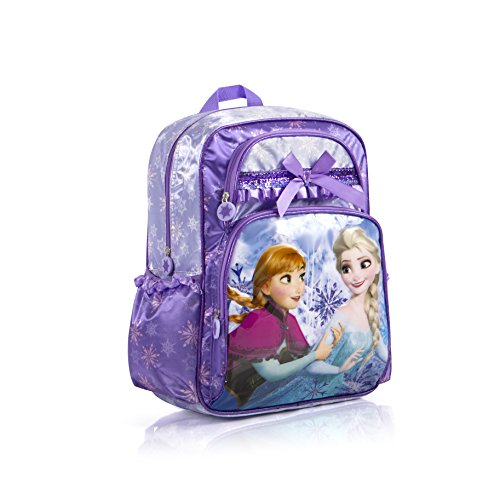 Golite Mens Backpack (Disney Frozen Anna Elsa Deluxe Large 16 Backpack (Purple))