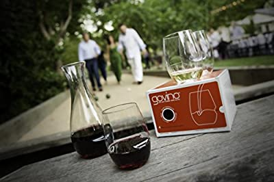 Govino Go Anywhere Classic Series Stemless Wine/Cocktail Glasses Flexible Shatterproof Recyclable