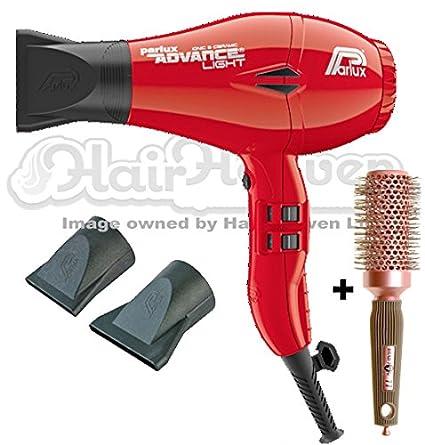 Secador de pelo Parlux Advance iónico y cerámico, color rojo +