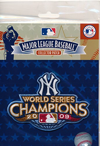 2009 New York Yankees World Series Champions Patch