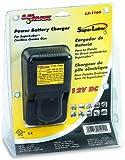 Lumax LX-1165 Black 120V 60 Hz Power Battery Charger