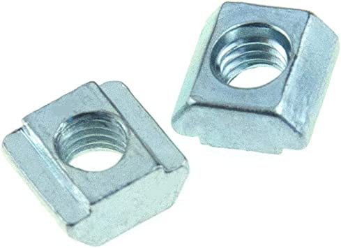 Slide-in Economy T-nuts M5 for T-slot Aluminum extrusion 2020 Pack of 20