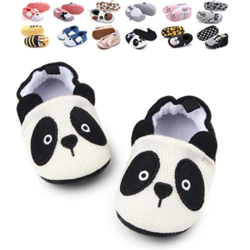 46e27b89e8e9f Infant Baby Boys Girls Adjustable Anti-Slip Slippers Soft Sole Moccasins  Winter Socks Frist Pram Shoes