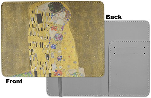 The Kiss - Lovers Passport Holder - Fabric by RNK Shops (Image #1)