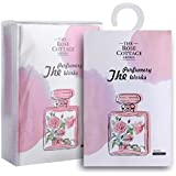 MYARO 8 Packs Large Rose Scented Sachets for Drawer and Closet Best Gift