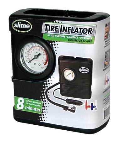Slime COMP02 - Inflador de neumáticos (12 V): Amazon.es: Deportes y aire libre