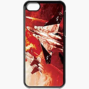 Personalized iPhone 5C Cell phone Case/Cover Skin Ace Combat Zero The Belkan War Black