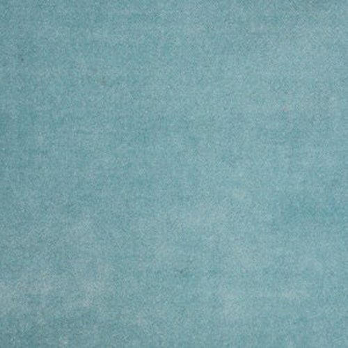 (Monarch Turquoise Fabric by the Yard, Upholstery, Velvet, Solid, Blue,)