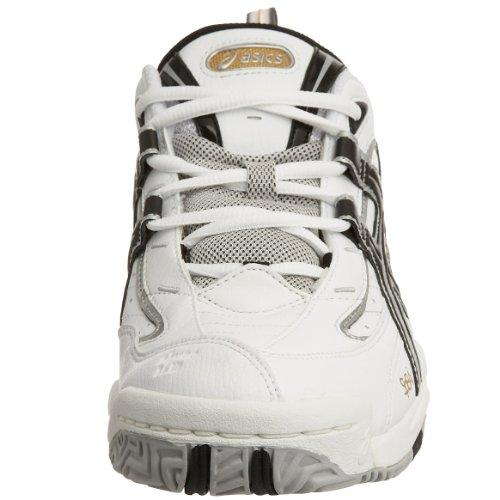 Asics Hombre gel-encourage corte Blanco - blanco, negro y dorado