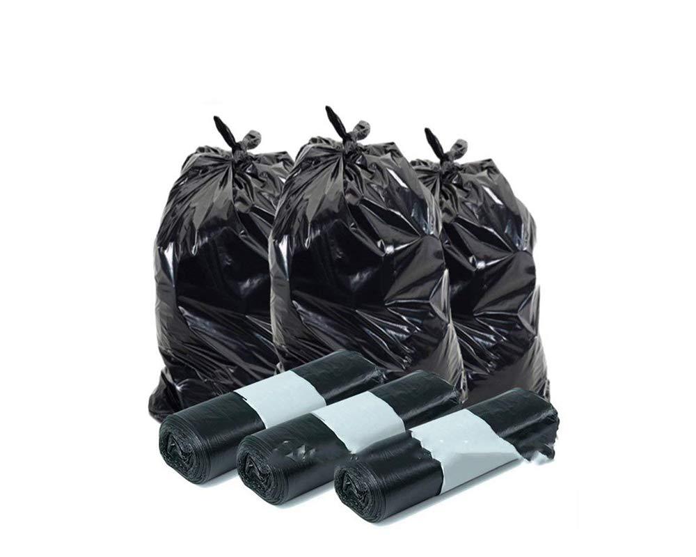 Palucart® Sacchi spazzatura colore NERO cm 70x110 (110 litri) 350 pezzi