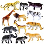 Wild Jungle & Safari Animals. Toy Fig...