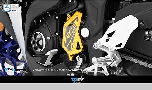 Dimotiv DMV フロントスプロケットカバー (Front Sprocket Cover)YAMAHA YZF-R25 / YZF-R3 ゴールド DI-FSC-YA-03-G   B01CCDJ6X4