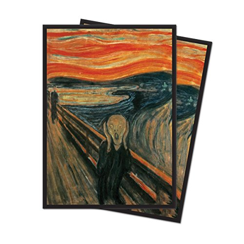 "Fine Art Series ""The Scream"" Standard (Magic) Deck Protector sleeves"