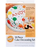 Wilton 18pc Starter Cake Decorating Set