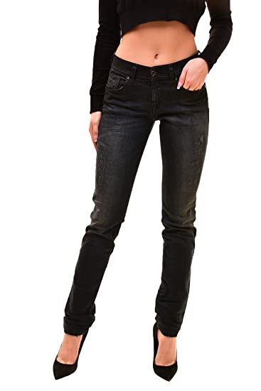 b081dd9487 Amazon.com  Diesel Women s Authentic Francy Jeans Black Size W26 L32 ...