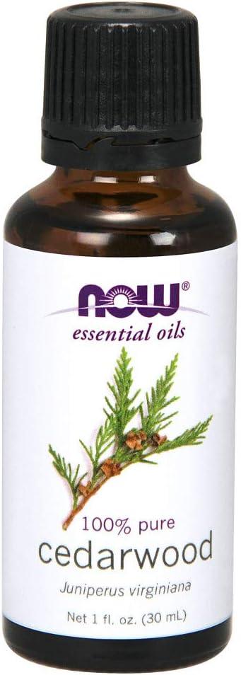 NOW Cedarwood Oil, 1 Fl Oz (Pack of 2)