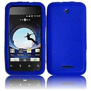 Compatible with ZTE Score X500 X500m Silicone Skin Cover - Blue