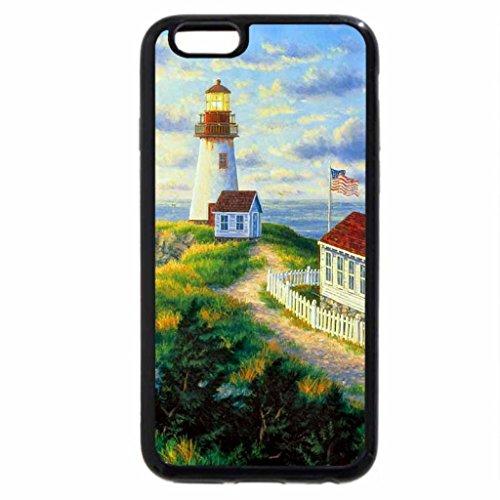 iPhone 6S / iPhone 6 Case (Black) The Sunrise of Spring