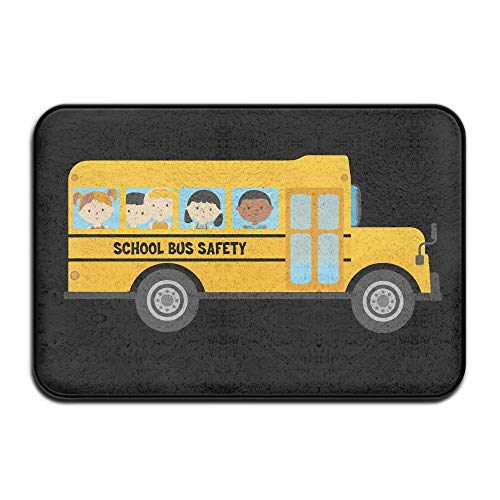 (School Bus Drivers Needed Skid Resistance Front Carpet Kitchen Mat)