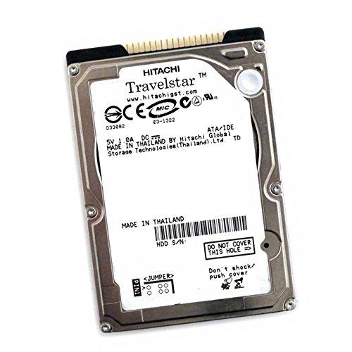 Hitachi Disque Dur 60Go IDE ATA 2.5 IC25N060ATMR04-0 4200RPM 8Mo Pc Portable