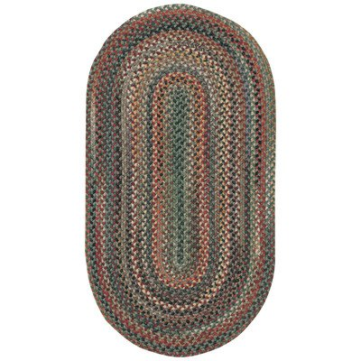 Capel Rugs Sherwood Forest Round Braided Area Rug, 8' 6