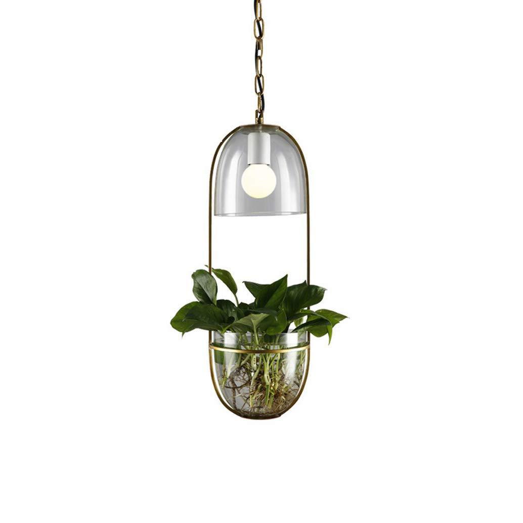 Einfache Schlafzimmerlokaldekorations-Persönlichkeit der kreativen Betriebsglasleuchter einfache einzelne Hauptlampen,A
