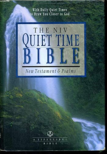 The NIV Quiet Time Bible: New Testament & Psalms- New International Version (A Life Guide Bible) from Brand: Intervarsity Pr