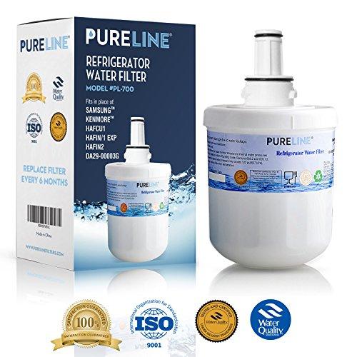 Samsung Aqua-Proper Plus DA29-00003G Refrigerator Water Filter Replacement, Also Fits Aqua-Pure Plus DA29-00003A, DA29-0003B & More - By Pure Line (1 Pack)