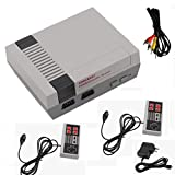 Mini Retro Video Game Console - 8 Bit AV RCA with Built in Classic Games 2 Controllers