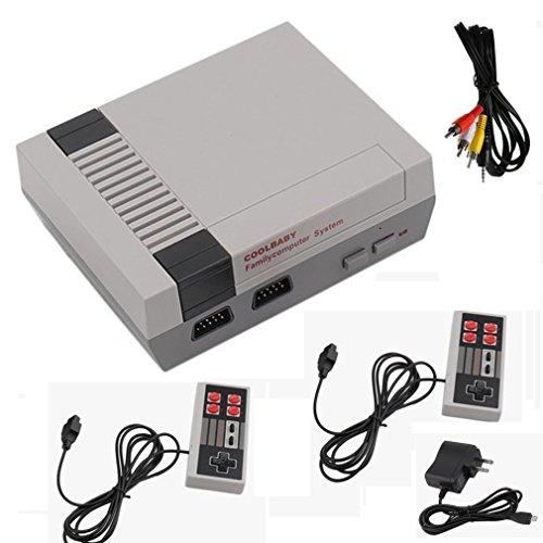 8 Bit Video Game - Mini Retro Video Game Console - 8 Bit AV RCA with Built in Classic Games 2 Controllers