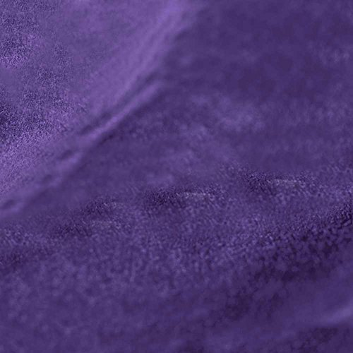 - Passion Suede - Microsuede Upholstery Fabric Sold by the Yard or Roll - 5 Yards, Grape / Purple