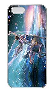 iPhone 5 Case, iPhone 5S Cases - Extremely Thin Crystal Clear Hard Case for iPhone 5/5s Shooting Stars Snap-on Clear Hard Back Case for iPhone 5/5S
