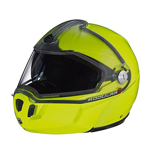 Ski-doo Modular 3 Snowmobiling Helmet- 4479631226 (X-LARGE, HI-VIS YELLOW)