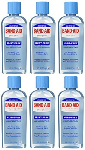 band-aid-brand-first-aid-hurt-free-antiseptic-wash-6-ounce-pack-of-6