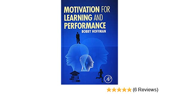 Amazon com: Motivation for Learning and Performance