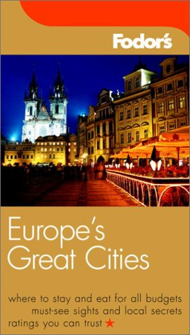 Read Online Fodor's Europe's Great Cities, 5th Edition (Travel Guide) pdf